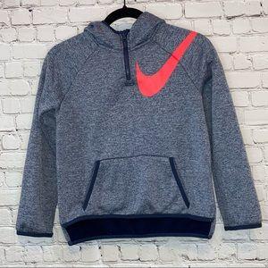 Nike Dri-Fit Blue High Low Hoodie
